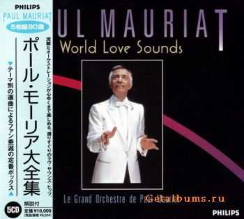 Paul Mauriat - World Love Sounds (Japanese Edition) (5CD) 1998 (Lossless) + MP3