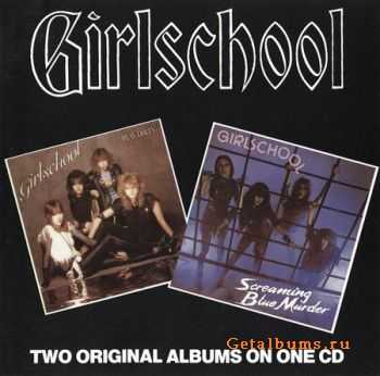 Girlschool (2 in 1) - Screaming Blue Murder (1982), Play Dirty (1983)