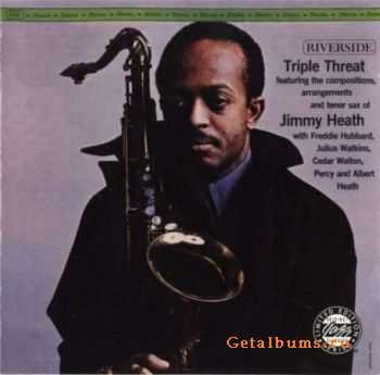 Jimmy Heath - Triple Threat - 1962 (1998)