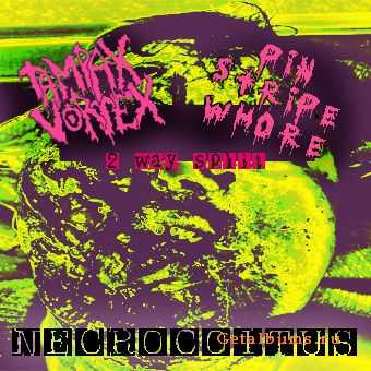 Pin Stripe Whore / Tampax Vortex - Necrocoitus-2 Way Split (2007)