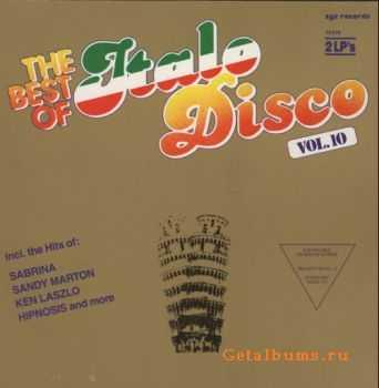 VA - The Best Of Italo Disco Vol.10 (Vinyl, LP) (1988)