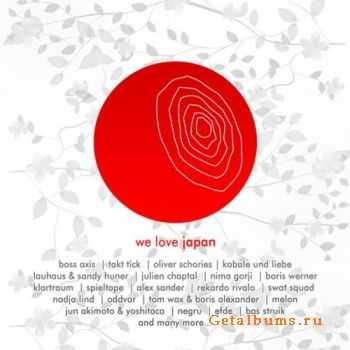 VA - We Love Japan - Fundraiser Japan (2011)