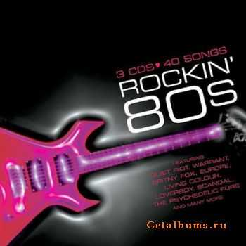 VA - Rockin' 80s (3 CD) (2004)