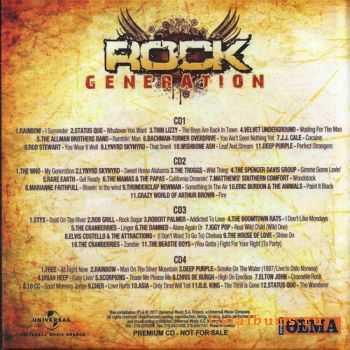 VA - Rock Generation (Box 4 CD)(2011)