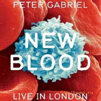 Peter Gabriel - New Blood. Live in London (2011)