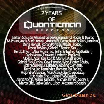 VA - 2 Years Of Quanticman (2011)