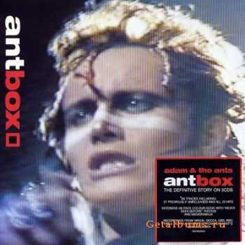 Adam Ant - AntBox (The Definitive Story) (3CD) (2001)