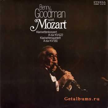 Benny Goodman - Benny Goodman Spielt Mozart (1976)