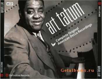 Art Tatum - Complete Original American Decca Recordings (1932 - 1944) [4CD Boxset] 2001