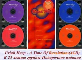 Uriah Heep - A Time Of Revelation - 25 years on...(4CD Box Set) (1996) Lossless+MP3