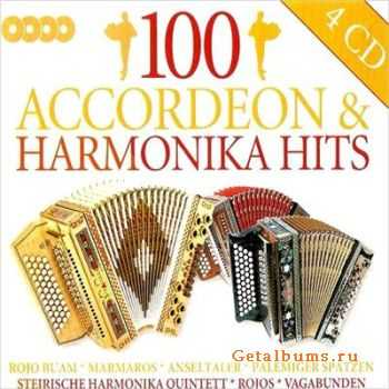 100 Accordeon & Harmonika Hits (2007)