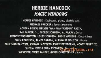 Herbie Hancock - Magic Windows (1981)