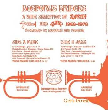 VA - Bosporus Bridges(A Wide Selection Of Turkish Jazz And Funk 69-78) 2005
