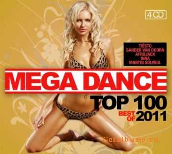 VA - Mega Dance Top 100 Best Of 2011 (2011)