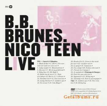 BB Brunes - Nico Teen Live (2011)