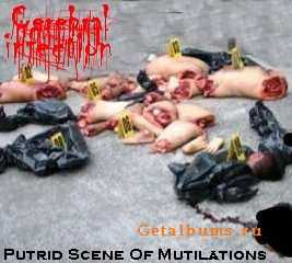 Cerebral Infection - Putrid Scene Of Mutilations (EP) (2011)