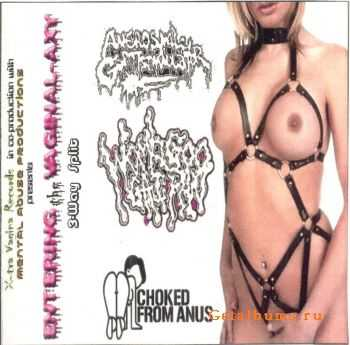 Choked From Anus & Aneros Male G-Spot Stimulator & Womb Goo Gai Pan - Entering The Vaginal-Axy (3-Way Split) (2007) (2007)