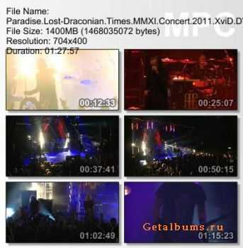 Paradise Lost - Draconian Times MMXI (2011) DVDRip