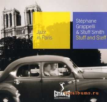 Stephane Grappelli & Stuff Smith - Stuff And Steff (1965) {Jazz in Paris №82}