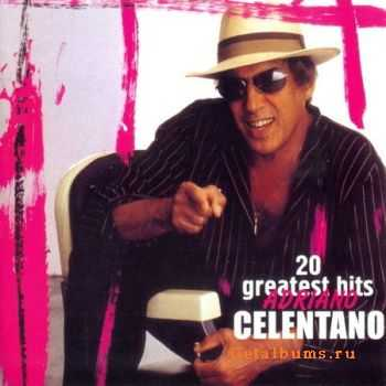 Adriano Celentano - 20 Greatest Hits (2005) (Lossless) + MP3