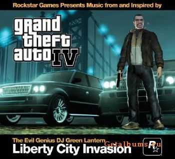DJ Green Lantern - Grand Theft Auto IV: Liberty City Invasion OST (2008)