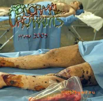Abnormal Urethritis - Promo (2005)