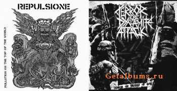 Repulsione & Terror Of Dynamite Attack - Pollution On The Top Of The World & Terror On Behalf Of God (Split) (2011)