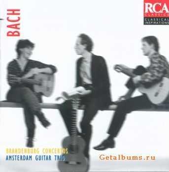Amsterdam Guitar Trio - Bach: Brandenburg Concertos (1985)