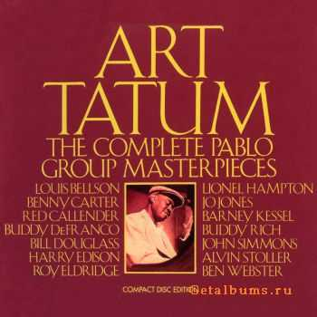 Art Tatum - The Complete Pablo Group Masterpieces (1954-1956) [6 CD Boxset] (1990)