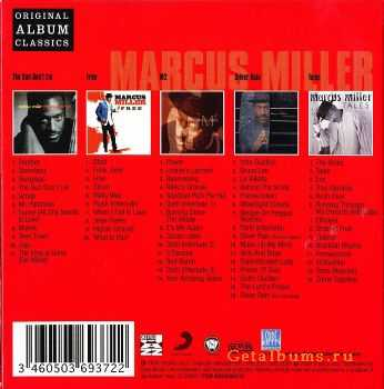 Marcus Miller – Original Album Classic (Box Set 5 Cd) (2009)