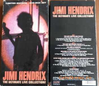 Jimi Hendrix - Ultimate Live Collection (1993) [4CD] FLAC