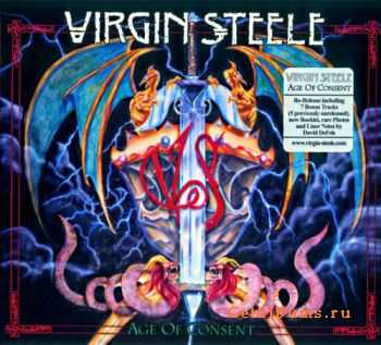 Virgin Steele -  Age Of Consent (Digipak 2CD Re-Release)  (2011)