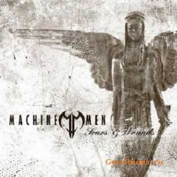 Machine Men - Scars & Wounds (2003, Limited Edition)