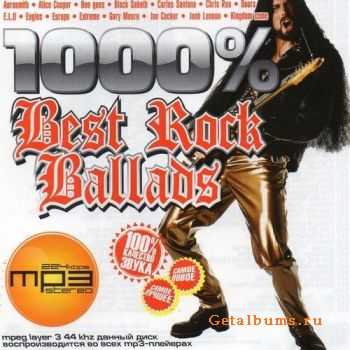 VA-1000% Best Rock Ballads (2012)