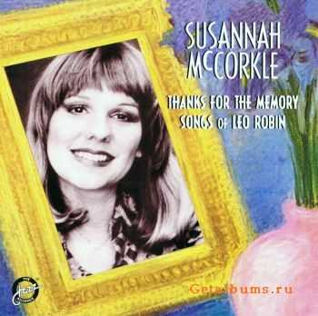 Susannah McCorkle - Thanks For The Memory: Songs of Leo Rubin (1983)