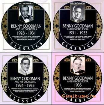 Benny Goodman - The Chronological Classics, 4 Albums (1928-1935)
