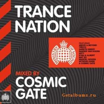 VA - Trance Nation (Mixed by Cosmic Gate) (2012)