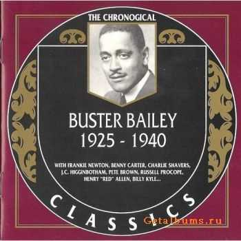 Buster Bailey - 1925-1940 (The Chronological Classics, 904) (1996)