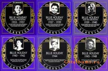 Billie Holiday - The Chronological Classics, 6 Albums