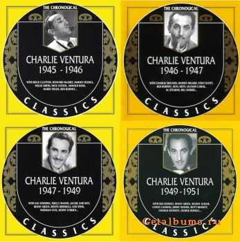 Charlie Ventura - The Chronological Classics, 4 Albums