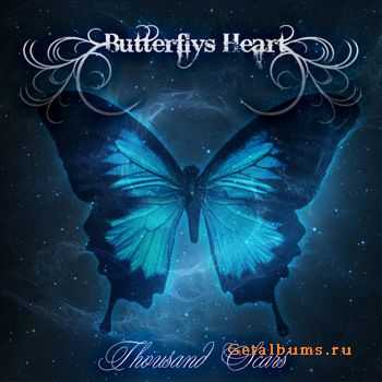 Butterfly's Heart - Thousand Scars (EP) (2012)