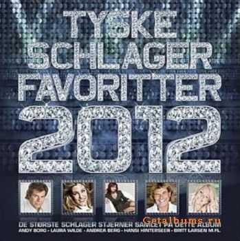 VA - Tyske Schlager Favoritter 2012 (2012)