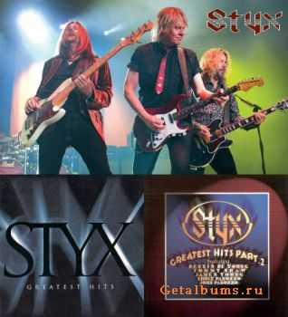Styx - Greatest Hits [Pt. I] 1995 +  Greatest Hits [Pt. II] 1996 (Lossless) + MP3