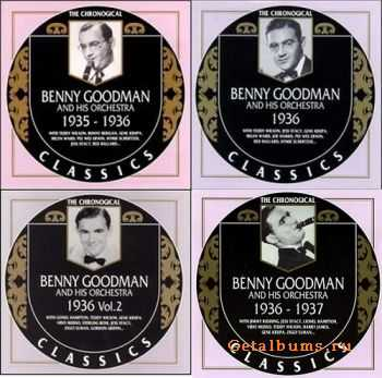 Benny Goodman - The Chronological Classics, 4 Albums (1935-1937)