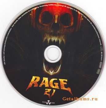Rage - 21 {Limited Edition} [2CD] (2012)