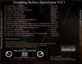 VA - Stomping Before Apocalypse Vol.I (2012)
