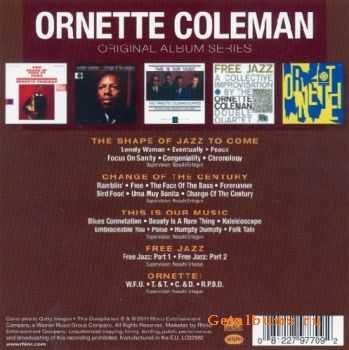 Ornette Coleman - Original Album Series (Box Set 5 Cd) (2011)