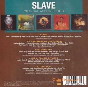 Slave - Original Album Series (Box Set 5 Cd) (2009)