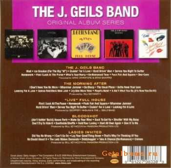 The J. Geils Band - Original Album Series (5CD Box) 2010