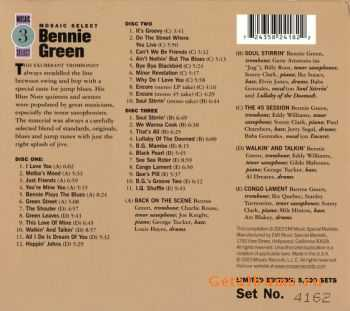Bennie Green - Mosaic Select (Box Set 3CD) (2003)